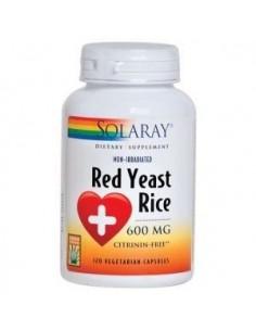 Red Yeast Rice · Solaray · 45 cápsulas