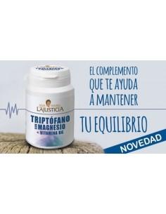 Triptófano con Magnesio y Vit B6 Ana María LaJusticia, 60 comprimidos
